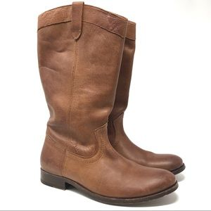 Frye | Women's Melissa Pull On Leather Boots 9.5B